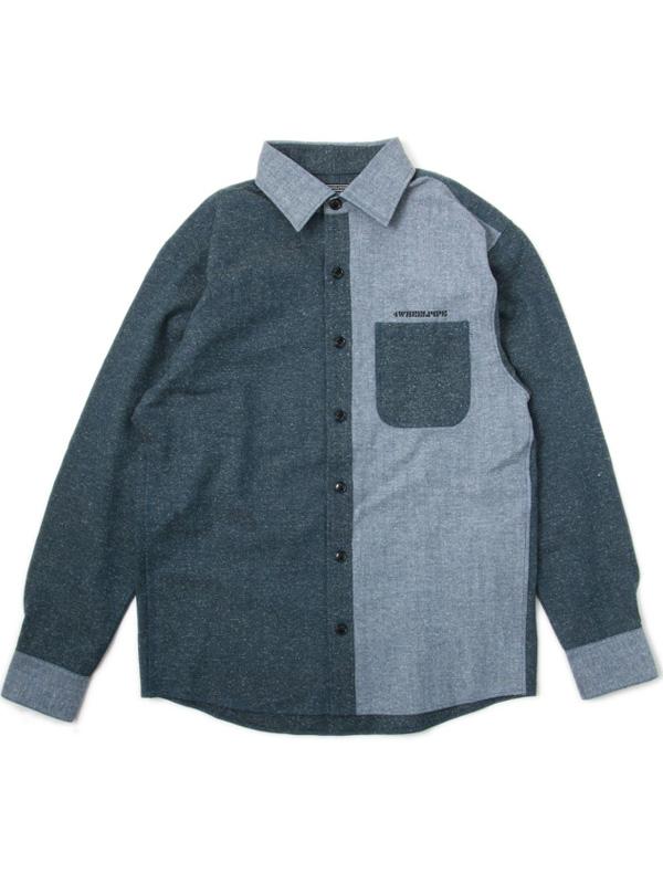 Herringbone Denim Shirts