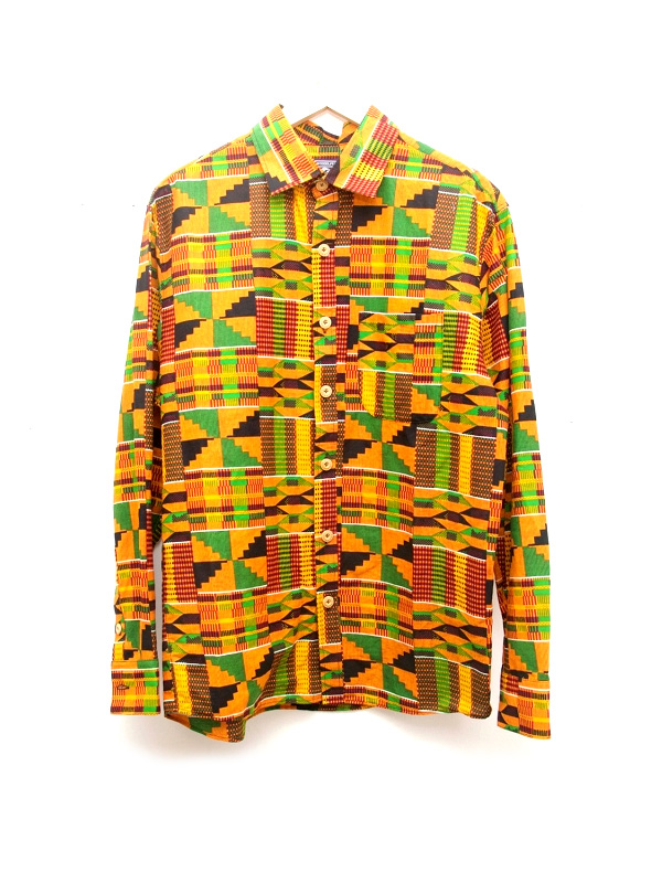 African Fabric Shirts