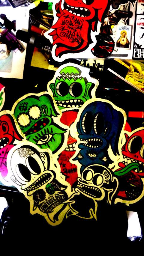 sticker-bomb