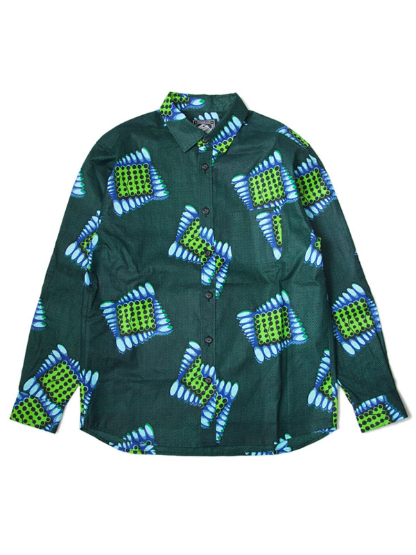 African Fabric Shirts 2